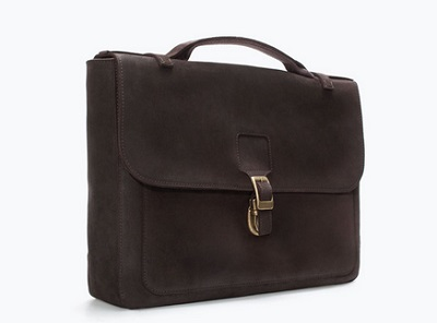 Zara Retro Brief - 10 Briefcases under $200 on Dappered.com