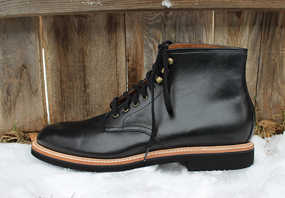In Review: The J. Crew Kenton Plain Toe Leather Boot   Dappered.com