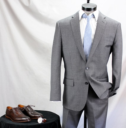 Med. to Dark Brown shoes, w/ a Grey Suit that's not too dark | Brown and Grey - How to Wear them Together on Dappered.com