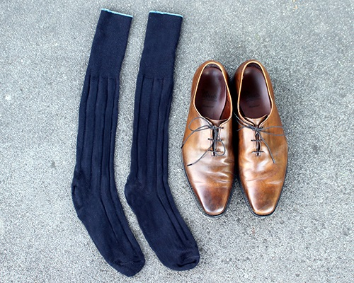 The Only 5 Types of Socks a well dressed Man Needs | Dappered.com