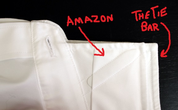 In Review: Dress Shirts from TheTieBar and Amazon's Buttoned Down Label