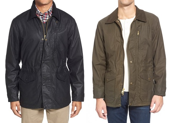 Filson Cover Cloth Mile Marker Waxed Cotton Coat