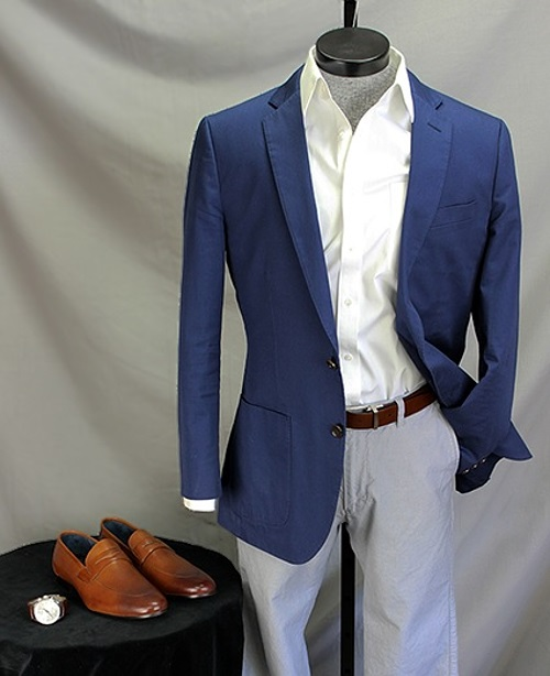 How To Wear It: The Bright Blue (not Navy) Sportcoat | Dappered.com