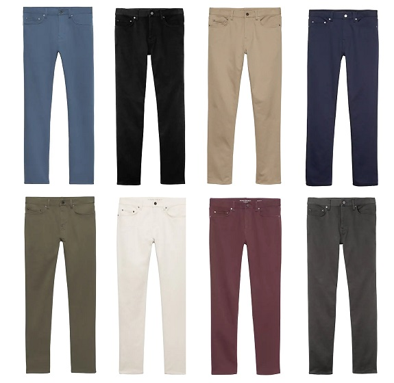 The Banana Republic Slim Traveler Pant