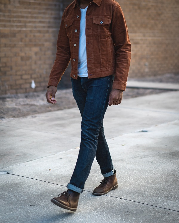 In Review: The J. Crew Trucker Jacket in Stretch Corduroy | Dappered.com