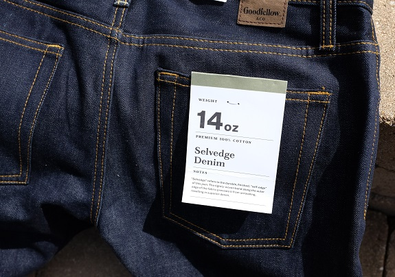 In Review: Target Goodfellow & Co Rigid Indigo Selvedge Jeans | Dappered.com