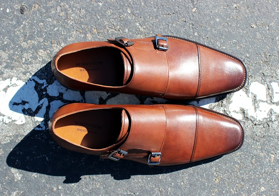 "Nordstrom Men's Shop ""Remy"" Monk Straps"