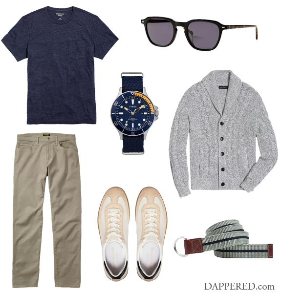 Style Scenario: Spring Temptation - On the Casual Side | Dappered.com