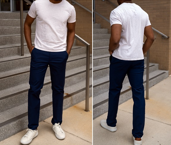 In Review: Target Goodfellow & Co Slim Fit Men's Tech Chinos | Dappered.com