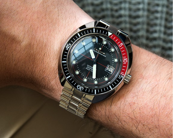 The Bulova Devil Diver Automatic on Dappered.com