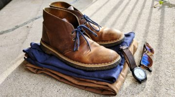 Chinos, Chukkas, Polo #5 – The Classic Blue & Khaki Color Combo