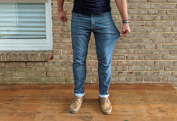 "In Review: Goodfellow & Co. ""Lightweight"" Denim 