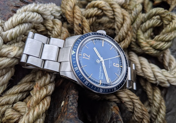 Christopher Ward Trident on Dappered.com