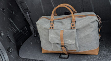 In Review: The AmazonBasics Canvas Weekender Duffel Bag