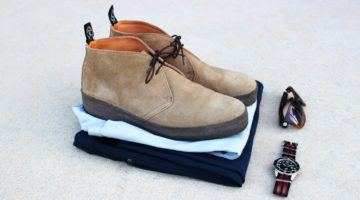 Style Scenario: Chinos Chukkas Polo – Get the Blues!