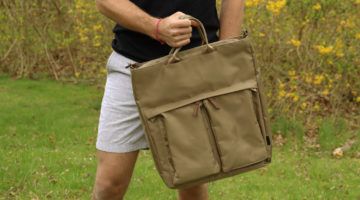 In Review: The Surprisingly Great, Cheap, Target Goodfellow Ballistic Nylon Tote Backpack