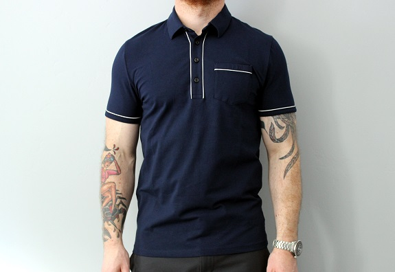 EXPRESS Piped Performance Polo