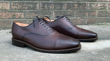In Review: Thursday Boot Co. Executive Oxfords